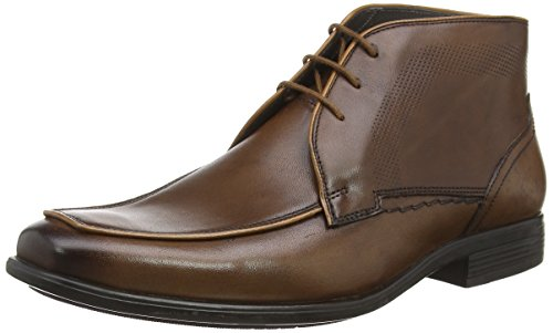 Hush Puppies Tom Maddow, Bottes Classiques homme Marron (brown Leather)
