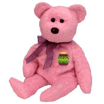 ty-beanie-babies-eggs-the-bear-pink-version-retired-toy-toy