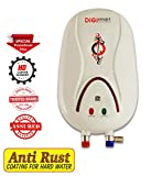 DIGISMART 3 LTR Instant 3 kva Geyser with Full Abs Body, Hotmak (Ivory)