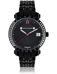 Chrono Diamond 82133_schwarz-35 mm - Reloj para mujeres, correa de metal color negro