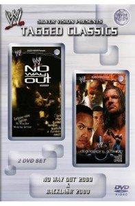 WWE Etikett Classics No Way Out Backlash 2000 2000, DVD