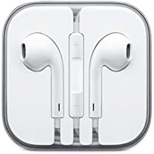 Auriculares manos libres Earpod Auricular + Micrófono para Apple Iphone 5 6 6S Plus iPad iPod