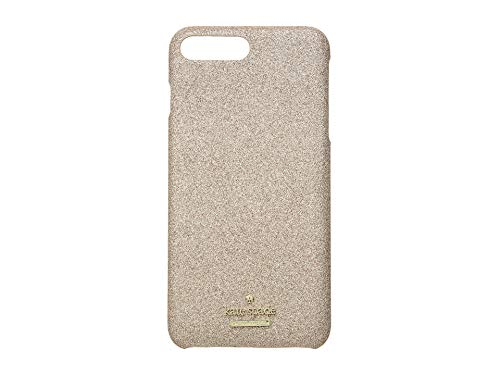 Kate Spade Schutzhülle für iPhone 8 Plus mit Glitzer Gold Rose Gold One Size