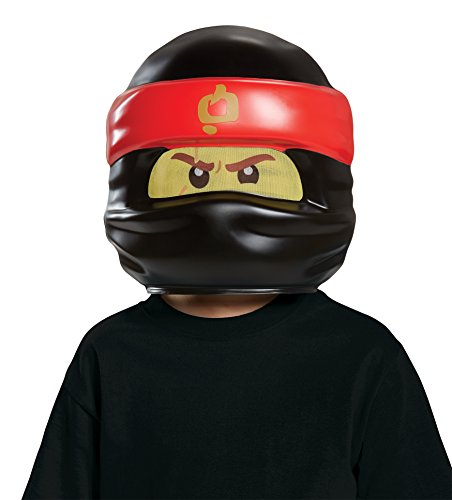 Batman Lego Kostüm Kopf - LEGO Ninjago Movie Maske, Kai, one size