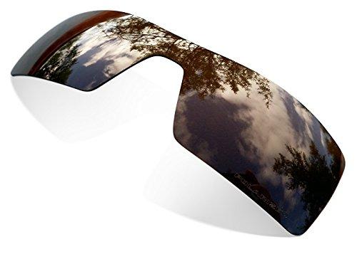 sunglasses restorer Kompatibel Ersatzgläser für Oakley Oil Rig, Polarisierte Brown Linsen