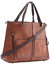 9bb210f2ab Legal Bribe Women s PU Shoulder and Handheld Bag -Tan