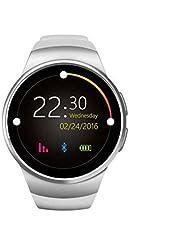 Bluetooth Smartwatch Telefon Uhr Schlaf Systemüberwachung,Alarm Funktion,Pulsuhren smartwatch,klaren Klang,Remote Kamera Sport uhr für Outdoor Running Walking