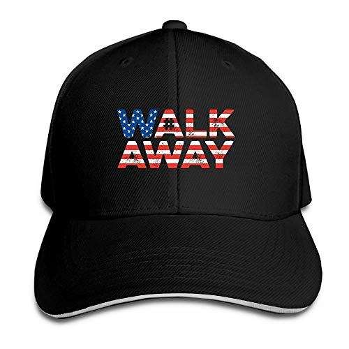 Unisex Adjustable Sandwich Hats Solid Colors Baseball Cap Snapback Hat for WalkAway Movement Walk Away Movement Plaid Hat Earflap