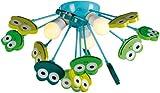 Naeve Leuchten Kinder Deckenleuchte Frosch 1077661