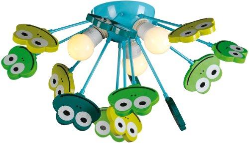 """Naeve Leuchten Kinder Deckenleuchte """"Frosch"""" 1077661"""