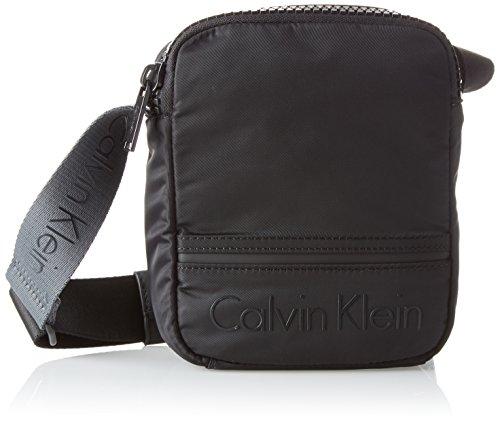 CALVIN KLEIN MATTHEW 2.0 MINI REPORTER 21*17*7 CM Nero (Black) Real Distancia Barato Lh1qP3Db