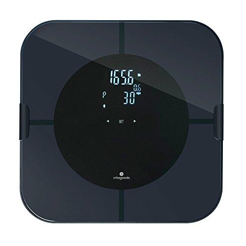 bilancia per grasso corporeo e analizzatore muscolare digitale vitagoods