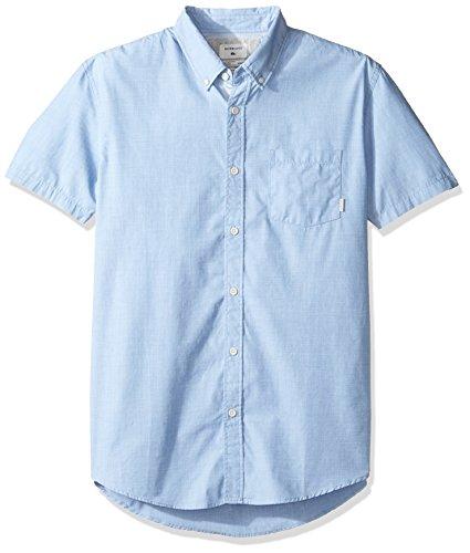 Quiksilver Herren Everyday Woven Hemd Vallarta Blue