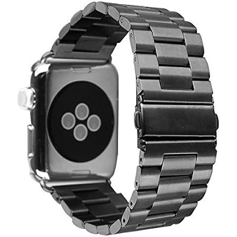 Per Apple Watch Band, Apple Watch di ricambio in acciaio inox cinturino per Apple Watch Sport Edition tutti i