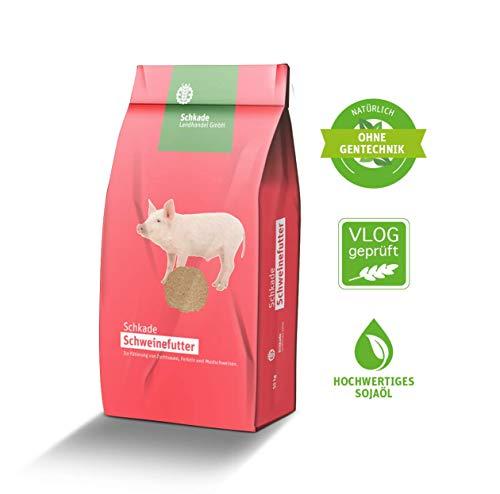 Schkade Landhandel GmbH Schweinemastfutter II - Schweinefutter für Mastschweine ab einem Gewicht von etwa 50 kg - mehlförmig 25 kg gesackt