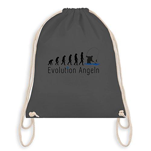 Evolution - Fishing Evolution - Borsa Da Palestra I Gym Bag Grigio Scuro