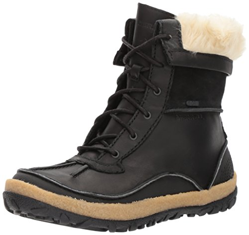 Merrell Damen Tremblant Mid Polar Waterproof Trekking-& Wanderstiefel, Schwarz (Black), 40 EU (Fashion Stiefel Weather Cold)