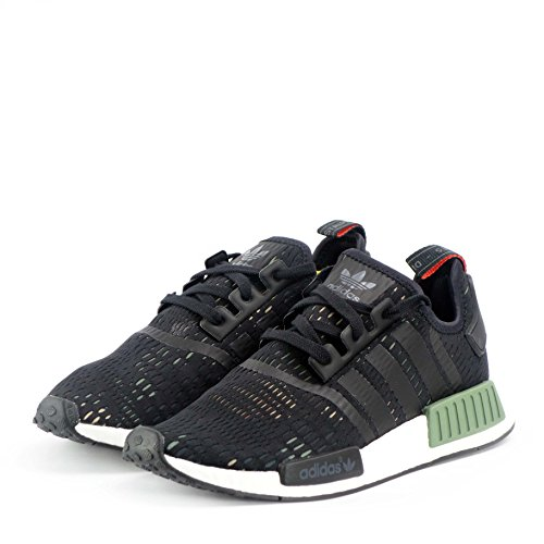 Adidas NMD_R1 (S31504) green core white black BB1357