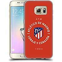 Official Atletico Madrid 1903 2017/18 Crest Soft Gel Case for Samsung Galaxy S7 edge