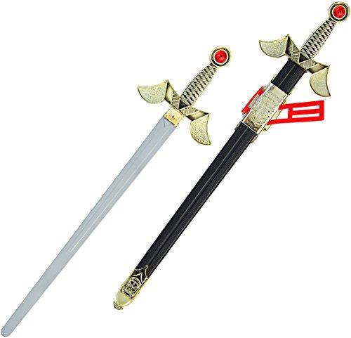 König Artur Ritter Schwert 65cm Lang (König Arthur Ritter Kostüm)