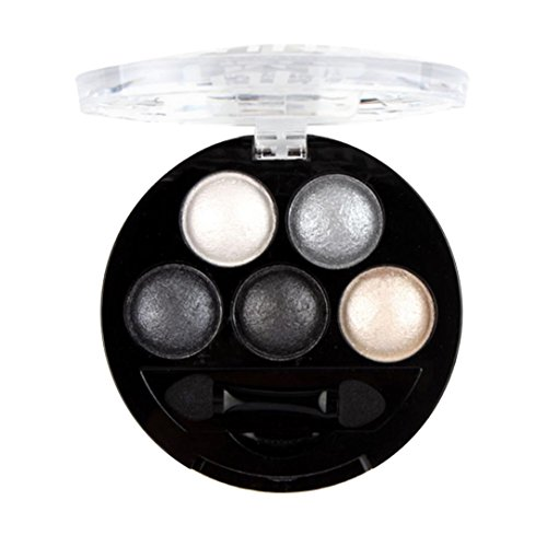 Eyes makeup Pigment eyeshadow Eye Shadow Palette (E) (Schwarzer Lidschatten Halloween-make-up)