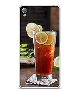 Snapdilla Designer Back Case Cover for Sony Xperia M4 Aqua :: Sony Xperia M4 Aqua Dual (Food Citrus Beverage Tasty Sweet Dessert Cool Liquid)