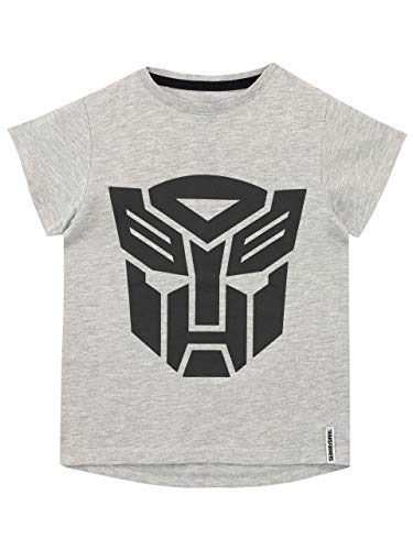 Transformers Jungen Autobots T-Shirt Grau 128 -