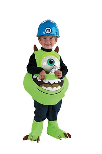 Halloween Monsters Kostüme Inc (.? Monsters Inc Disney Mike Candy Catcher Child Costume Monsters, Inc. Disney Mike Candy Catcher Child Costume Halloween Size: Up to size 6 (japan)