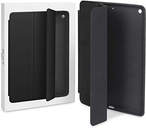 ROXX Apple iPad 9.7 Hard Case Leder Hülle | Wie Das Original | 2017/2018 | iPad Smart Case