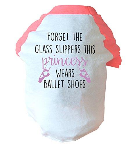 sen das Glas Hausschuhe This Princess Wears Ballett Schuhe zwei straffen Hund Weste Rosa oder Blau Gr. Medium, rose ()