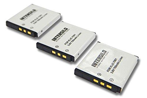 intensilo-3x-li-ion-batterie-700mah-36v-pour-appareil-photo-camera-video-kodak-easyshare-m320-m340-m