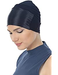 Essential Satin Front Tie Back Viscose Cap for Hair Loss | Chemo Caps