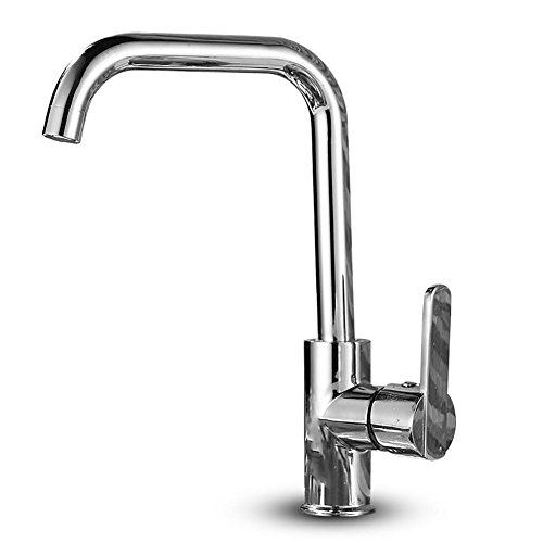 Tutto il rame acqua calda e fredda, cucina acqua drago, rotazione, singolo foro maniglia (Fusioni Freddo Bronzo)