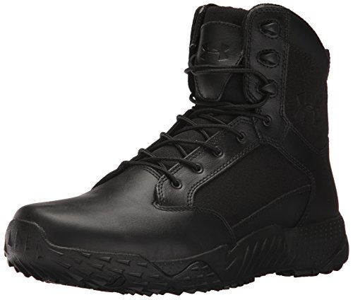 Under Armour Herren Stellar Tactical Side Zip Hohe Sneaker Schwarz Black, 46 EU