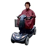 Kozee Komforts Waterproof Mobility Scooter Cape, Weatherproof Universal Fit Poncho for 3 and 4 Wheel Scooters