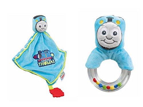 Thomas und Friends Baby Ring Rassel und Beißring/Tröster (2Stück enthalten) (2 Stück Tröster)