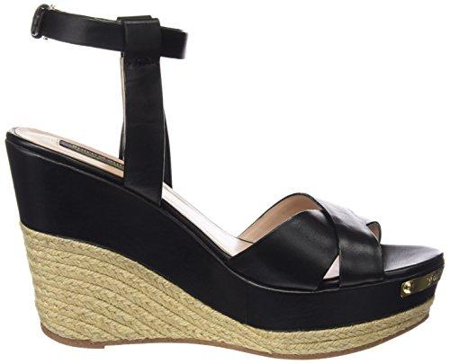 Juicy Couture Damen Simone Sandalen Pitch Black Leather