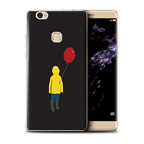 für Huawei Honor Note 8 / Georgie/Ballon Muster/Horrorfilm Inspiriert Kollektion ()