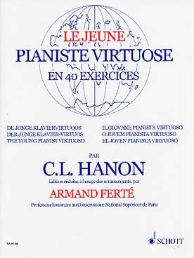 Hanon: le jeune pianiste virtuose en 40 exercices