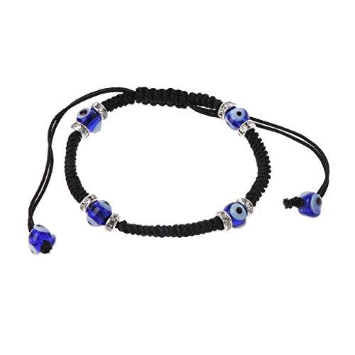 Imagen de misha classic evil eye bracelet trenzado rojo macrame kabbalah jewelry for women pulseras únicas de moda 4#