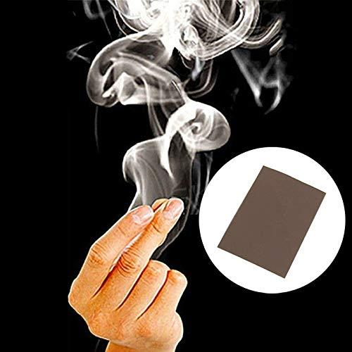 YITEJIA Addictive Magie-Kits Voodoo Magie Rauch Finger Magie Tipps Überraschung Streich-Witz-Rätsel Spaß Finger Leere Hand Out Zauberrequisiten Comedy Magie Rauch (Color : 5 Pcs)