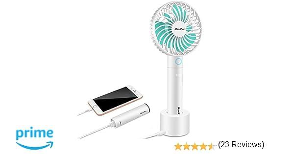 Ventilateur de table portatif ventilateur portatif rechargeable