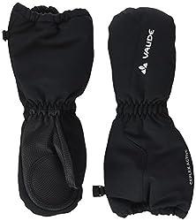 VAUDE Kinder Kids Snow Cup Mitten III Handschuhe, schwarz (Black Uni) , 5
