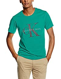 Calvin Klein Jeans TEE RE-ISSUE CN REGULAR FIT TEE SS - Camiseta Hombre