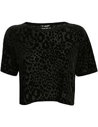 PILOT® Lilli léopard imprimé floqué carrée brassière