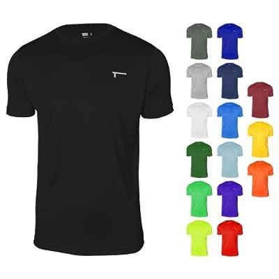 TREN Herren Ultra Lightweight Polyester Funktionsshirt T-Shirt