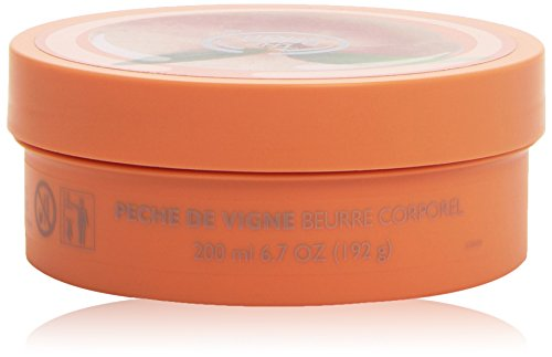 Body Butter Creme (The Body Shop Vineyard Peach Body Butter/Körperbutter Pfirsich 200ml)