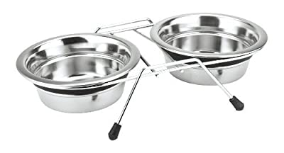 Nobby Double Bowl Stainless Steel Silent Diner