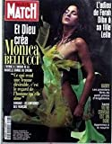 paris match n? 2718 du 28 06 2001 l adieu de farah diba a sa fille leila et dieu crea monica bellucci harry le petit prince d angleterre votre cerveau est un ogre