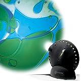 Mathmos Space Projektor in Schwarz mit Lavalampen Effekt Blau/Grün